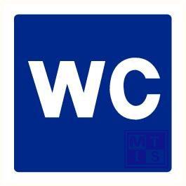 Wc plexi recto/verso 200x200mm