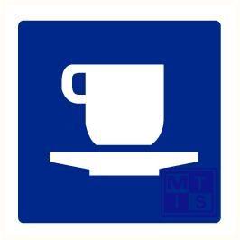 Cafetaria plexi fotolum recto/verso 150x150mm