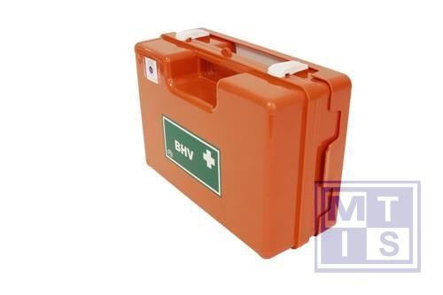 BHV verbandkoffer Oranje Kruis richtl 2011 wandhouder