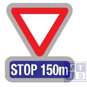 Stop en voorrang verlenen na afstand T2000 classe I 700mm