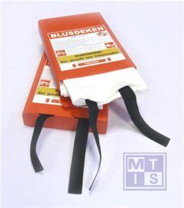 ATV Blusdeken enkellaags 120x120cm hardbox
