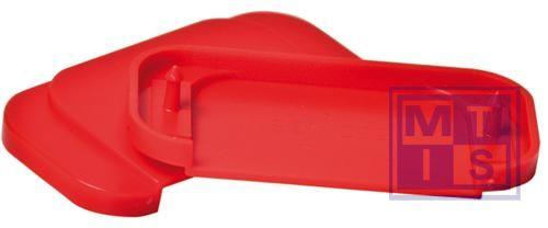 Reserve set breekplaten rood (6stuks)