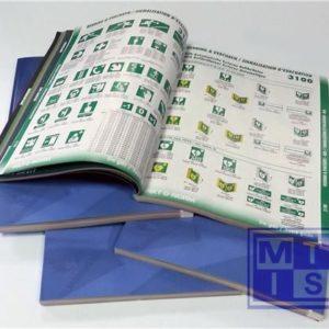 Catalogus Pikt-o-norm met eigen tekst op de cover