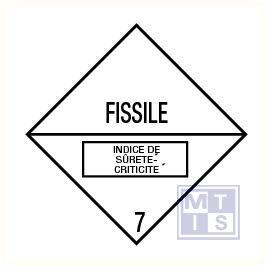 Fissile (7) vinyl 100x100mm