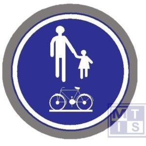 Deel van de weg voor voet, fiet, br T2000 classe II 400mm