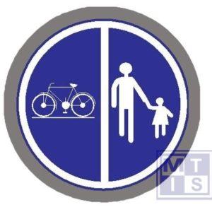 Deel van de weg voor voet, fiet, br T2000 classe I 700mm