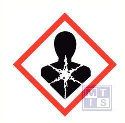 kankerverwekkend/gezondheidsrisico's PP 250x250mm GHS