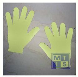 Handafdrukken zelfklevend vinyl fotolum per paar
