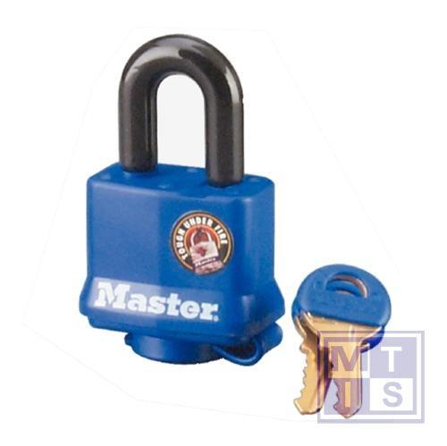 Hangslot voor buitenshuis 25mm gelijke sleutels
