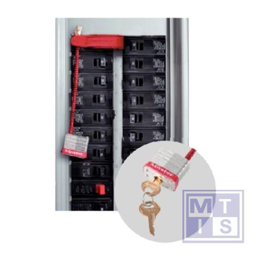 Electriciteitsvergrendelaars 12,7cm met slot