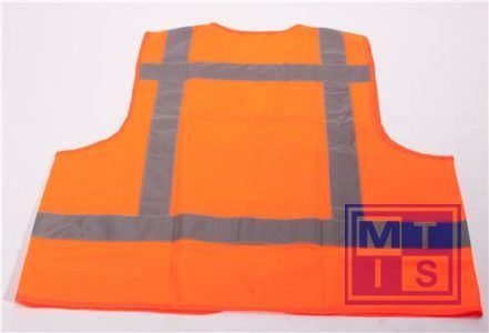 ATV Veiligheidsvest vlamvertragend oranje met tekst