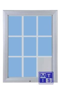 Vitrinekast type T 1245x1067mm