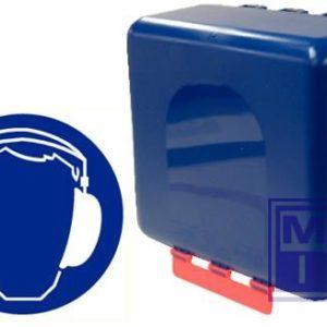 Secubox gehoorbescherming midi transparant23.6x22.5x12.5mm