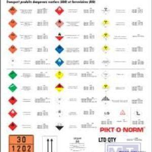 Poster ADR PVC 650X930X0.3mm