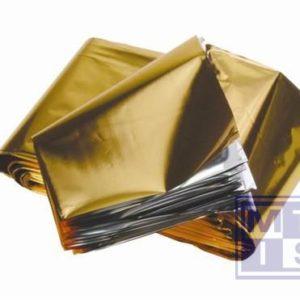 Reddingsdeken goud/zilver, 210x160cm