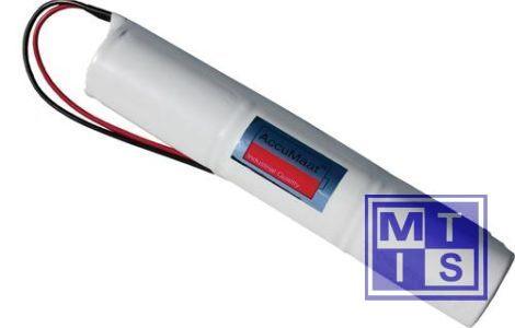 Accupack 4,8v 2200Mah (1/2 D Staaf)