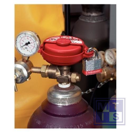 Vergrendelingssystemen voor gasflessen 2 sloten diam. 7,5cm