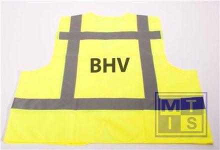 ATV Veiligheidsvest XXL opdruk BHV geel