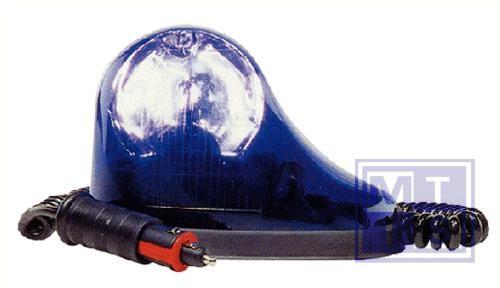 Zwaailicht blauw 24 volt