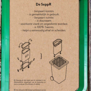 SeppR Verpakking - Afval scheiden in uw eigen container